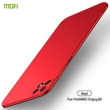 Voor Huawei Geniet van 20 MOFI Frosted PC Ultra-thin Hard Case(Red)