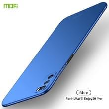 Voor Huawei Geniet van 20 Pro MOFI Frosted PC Ultra-thin Hard Case(Blauw)
