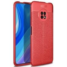 Voor Huawei geniet van 20 Pro Litchi Texture TPU shockproof case(rood)