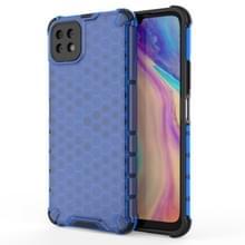 Voor Huawei Geniet van 20 schokbestendige honingraat PC + TPU Case(Blauw)