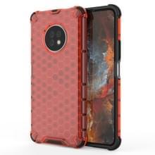 Voor Huawei Geniet van 20 Pro Schokbestendige honingraat PC + TPU Case(Rood)