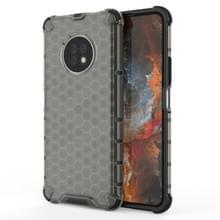 Voor Huawei Geniet van 20 Pro Schokbestendige honingraat PC + TPU Case(Grijs)