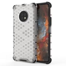Voor Huawei Geniet van 20 Pro Schokbestendige honingraat PC + TPU Case(Wit)