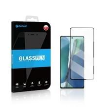 Voor Samsung Galaxy Note 20 mocolo 0 33mm 9H 2.5D Full Glue Tempered Glass Film  Ondersteuning Vingerafdruk ontgrendeling