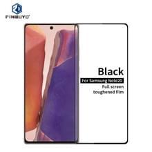 Voor Samsung Galaxy Note20 PINWUYO 9H 2.5D Full Screen Tempered Glass Film (Ultrasone vingerafdrukontgrendeling)(Zwart)