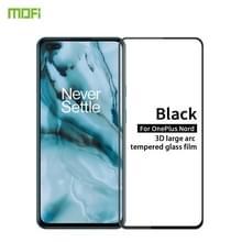 Voor OnePlus Nord MOFI 9H 3D Explosiebestendige Geharde Glazen Film (Zwart)
