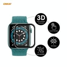 Voor Apple Watch 6/5/4/SE 44mm ENKAY Hat-Prince 3D Full Screen Soft PC Edge + PMMA HD Screen Protector Film