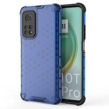 Voor Xiaomi Mi 10T/Mi 10T Pro/Redmi K30S schokbestendige honingraat PC + TPU case(blauw)