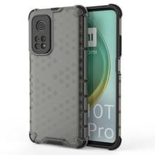 Voor Xiaomi Mi 10T/Mi 10T Pro/Redmi K30S schokbestendige honingraat PC + TPU case(grijs)