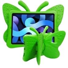 Butterfly Bracket Style EVA Children Shockproof Beschermhoes voor iPad Air (2020) 10.9(Groen)