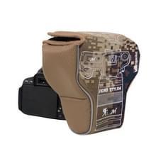 Waterdichte cameratas hoes voor Canon EOS M100/M50/M10/M6/M5/M3 (camouflage)