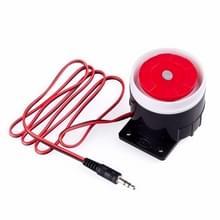 Mini bedraad alarm PSTN/GSM draadloze thuis alarm beveiligingssysteem 120 decibel hoorn alarm accessoires
