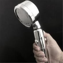 Nozzle krachtige Booster regendouche set huishoudelijke badkamer schakelaar draaibare douche (zilver)