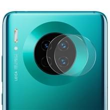 Voor HUAWEI mate 30/mate 30 Pro 2 stuks ENKAY Hat-Prince 0.2 mm 9H 2.15 D ronde rand Achteruitrij camera lens gehard glas film