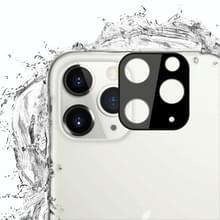 Voor iPhone 11 Pro Max mocolo 0.15 mm 9H 2.5 D ronde rand Achteruitrij camera lens gehard glas film (zwart)