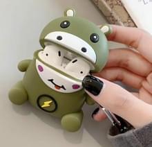 Voor Apple AirPods 1/2 generatie Universal Lightning Hippo Bluetooth hoofdtelefoon beschermhoes