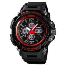 SKMEI 1498 mode multifunctionele waterdichte student elektronische horloge outdoor sport Kinderhorloge mannelijk (rood)