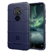 Voor Nokia 6 2 volledige dekking schokbestendig TPU case (blauw)