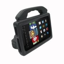 Voor Kindle Fire HD 7 schokbestendige EVA duim stand Tablet shell (zwart)