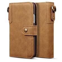 Voor Huawei Mate 20 Cowhide Texture Horizontal Flip Leather Case met Holder & Card Slots & Wallet & Lanyard(Brown)