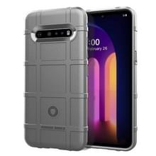 Voor LG V60 ThinQ Full Coverage Shockproof TPU Case(Grijs)