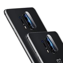 Voor Oneplus 8 2pcs mocolo 0 15mm 9H 2.5D Round Edge Camera Lens Tempered Glass Film