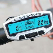 SUNDING SD-558A Fiets Computer Wired Stopwatch Fiets Snelheidsmeter Digitale Kilometerteller Rainproof LCD Backlight Stopwatch