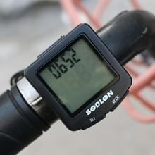 SUNDING SDL-571 LCD Digital Display Fiets Computer Wired Waterproof Cycle Kilometerteller Fiets Snelheidsmeter Stopwatch Rijden Accessoires Tools