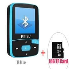Nieuwe aankomst originele RUIZU X50 Sport Bluetooth MP3 Player 8 gb Clip Mini met ondersteuning voor scherm FM  opname  E-Book  klok  stappenteller Sky Blue 8 GB