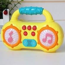 Multifunctionele mini-radio met LED-verlichting kinderen educatieve muziek speelgoed  willekeurige kleur Dlivery