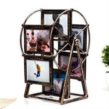 Creatieve kunststof roterende fotolijstjes 5 inch retro reuzenrad windmolen fotolijstjes (retro)