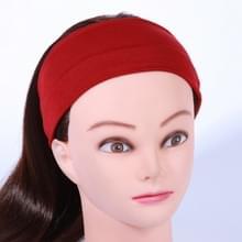Yoga Fitness Hair Band Hoofdband  Grootte: Ongeveer 21 x 7cm (Rood)