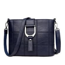 Luxe messenger bags vrouw tas Lederen schoudertassen tote tas (blauw)