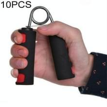 10 PCS A Type 4.5mm Verchroomde Vingerafdruk Tweekleurige katoenen mouw grip (Rood)