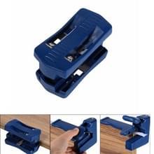 Straight Edge Trimmer Woodworking Manual Edge Banding Machine Tool Planer  Style:Flat Head