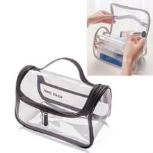 Travel Cosmetische Tas Creatieve Multifunctionele Waszak  Stijl: Cosmetische Tas (Transparant)