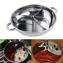 Pittige Sannomiya hot pot bekken soep pot partij koken tools  grootte: dikker diameter 36cm