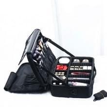 Make-up tas borduurwerk Manicure Draagbare Clapboard Toolbox  Grootte: Medium