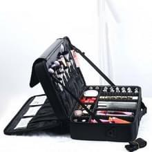 Make-up tas borduurwerk Manicure Draagbare Clapboard Toolbox  Grootte: Extra Groot