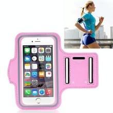 10 PCS Sports Outdoor Arm Bag Fitness met Touch Screen Mobiele Telefoon Arm Bag  Grootte: Groot (Roze)