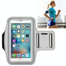 10 PCS Sports Outdoor Arm Bag Fitness met Touch Screen Mobiele Telefoon Arm Bag  Grootte: Groot (Grijs)