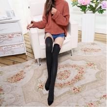 Hou van Bow sport paardrijden kousen hoge knie sokken  grootte: One size (zwart)
