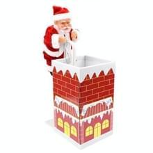 Klimmen muurklimmen schoorsteen Santa pop met muziek elektrisch speelgoed Kerstcadeaus