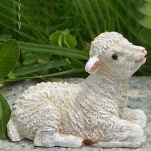 Hars ambachten lammeren ornamenten simulatie schapen slinger tuinieren ingegoten ornamenten