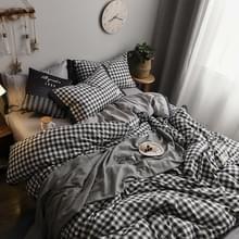 Modieus huishoudelijk katoen beddengoed  Specificatie: 1 5 meter bed (vierdelige set)(München)