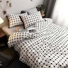 Modieus huishouden katoen beddengoed  Specificatie: 1 8 meter bed (vierdelige set)(Meteor)