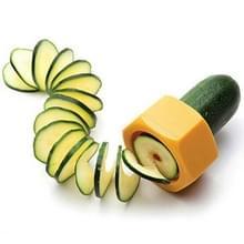 Creatieve Multifunctionele Groentesnijder Schroef Komkommer Komkommer Snijmachine Fruit Spiralizer Willekeurige kleur