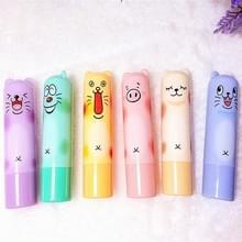 3 stuks bescherming lippenbalsem lippenstift vochtinbrengende voller duurzame therapie reparatie gekraakte droge lippen hydraterende Lipbalm make-up willekeurige kleur levering (2 4 g)