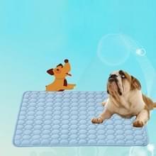 SFB104 zomer koeling matten deken ijs huisdier hond kat bed matten  grootte: 102x70cm (blauw)