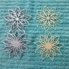 2 stks/set DIY bloem wenskaart mes schimmel kinderen papier kunst Agentschap Embossing etsen snijden mes schimmel